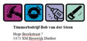 Timmerbedrijf Bob van der Steen